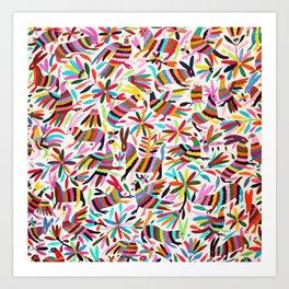 Colores de Primavera Art Print