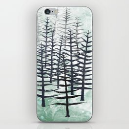 January Abstract iPhone Skin