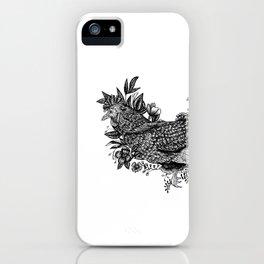 Rooster - Go Vegan iPhone Case