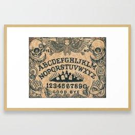 Ouija Board Framed Art Print