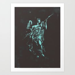 Censored Saints #1 Art Print