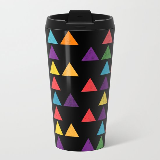 Lovely geometric Pattern XIII Metal Travel Mug