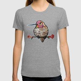 L'il Lard Butt Ruby Throated Hummingbird T-shirt