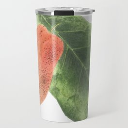 Cashew Apple Watercolour Travel Mug