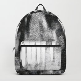 Denzel Hayes Washington Jr. - Society6 Online Movie Star - Actor - Cross Rockin' Backpack