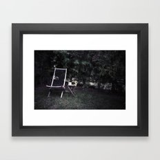 Relax. Framed Art Print