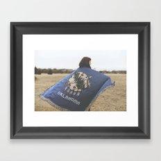 oklahoma forever  Framed Art Print