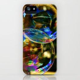 Bubbles | Bulles iPhone Case