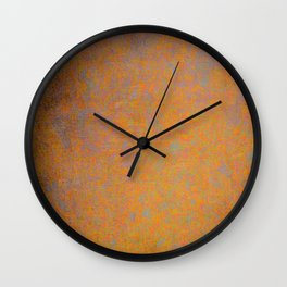 Abstract rusty texture Wall Clock