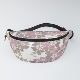 Pearl floral 3D texture . Fanny Pack
