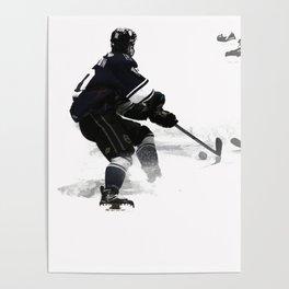 The Deke - Hockey Player Poster