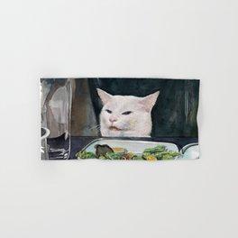 Woman Yelling at Cat Meme-2 Hand & Bath Towel