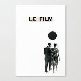 Le Film Canvas Print