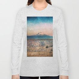 Desert Mountain Adventure - Nature Photography Long Sleeve T-shirt