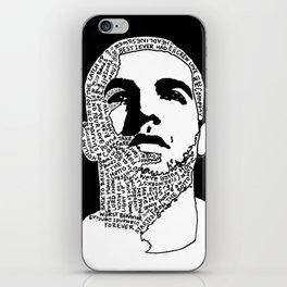 Weekend Drake iPhone Skin