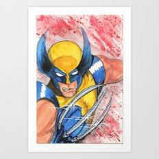 Wolverine One Art Print