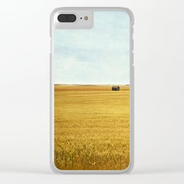 Missing Harvest Clear iPhone Case