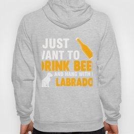 Gift For Labrador And Beer Lover. Hoody