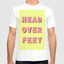 3D HEAD OVER FEET T-shirt