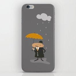 Happy Rainy Day iPhone Skin