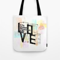 pablo picasso Tote Bags featuring Pablo Picasso by MuDesignbyMugeBaris