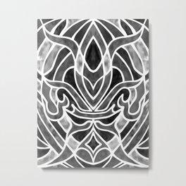 Fleur De Lis Metal Print