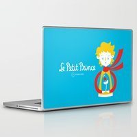 le petit prince Laptop & iPad Skins featuring Le Petit Prince by Andrea Tobar