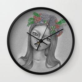 Flora Doll Wall Clock