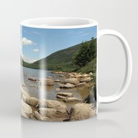 maine Mugs featuring Maine by Raymond Earley
