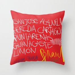 VAMOS TIQUICIA! Throw Pillow