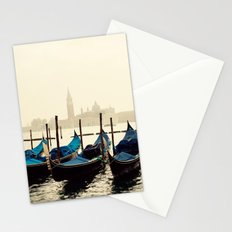 Gondolas in Color Stationery Cards