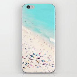 beach love III square iPhone Skin