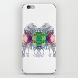 Inknograph XV - Rorschach Art iPhone Skin