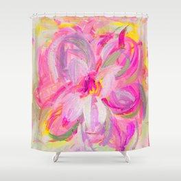 floral art Shower Curtain