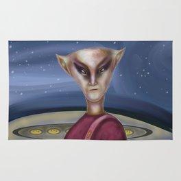 Alien Commander  Rug