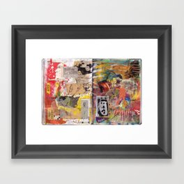 On 50 Brain Cells Framed Art Print