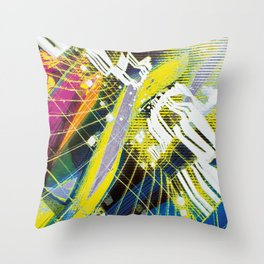 In Psyde 01 Throw Pillow