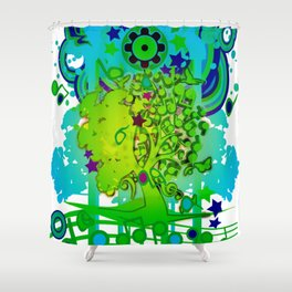 Li-Lu-La-Lu-Lu-Lu Shower Curtain