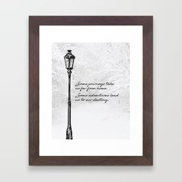 Chronicles of Narnia - Some adventures - CS Lewis Framed Art Print