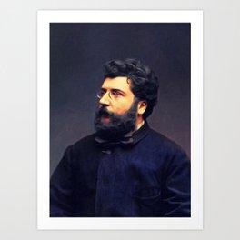 Georges Bizet, Music Legend Art Print