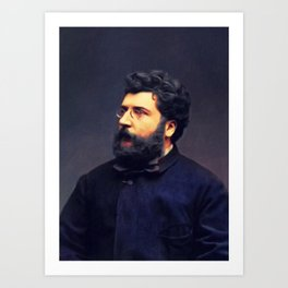 Georges Bizet, Music Legend Art Print