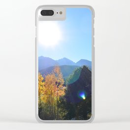 Somehow Inbetween Clear iPhone Case