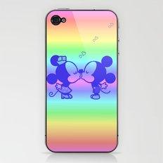 M&M Kiss iPhone & iPod Skin