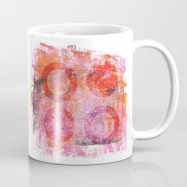 abstract circles painted artwork Coffee Mug