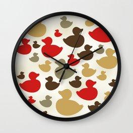 AL AQUA DUCK 9 Wall Clock