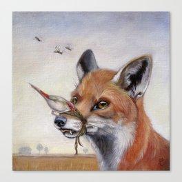 Dead Air (Fox) Canvas Print
