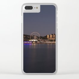 Torquay At Night Clear iPhone Case