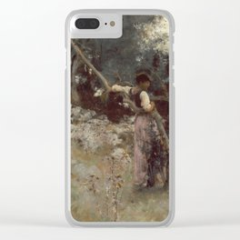 John Singer Sargent - A Capriote Clear iPhone Case