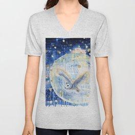 The First Full Moon Unisex V-Neck