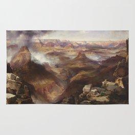 Grand Canyon of the Colorado River by Thomas Moran Rug